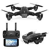 Caeasar FQ35 Drone Folding Quadcopter Aerial Mini...
