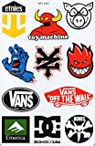 1x BOGEN A4 SKATEBOARD, Skater, DC VANS ZOO YORK ETNIES...