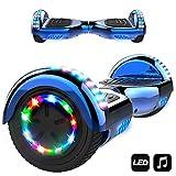 MARKBOARD Elektro Scooter Hoverboard LED 6,5' E-Balance...