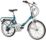 Klapprad Faltrad Florence Old Style 20 Zoll 6 Gang...