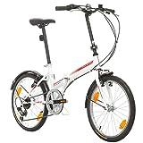 Klapprad Fahrrad Bikesport FOLDING 20 Zoll Shimano 6...