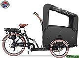 Elektro Transportfahrrad/Bakfiets Vogue Troy 7 Gang DR...