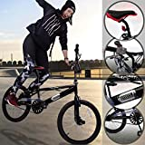 BMX 20 Zoll | 360° Rotor-System, Freestyle, 4 Stahl...