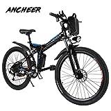 ANCHEER Elektrofahrrad Faltbares Mountainbike, 26/20...