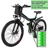 Beautytalk Elektrofahrrad E-Mountainbike Klapprad Alu...