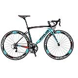 SAVADECK Rennrad, Warwind3.0 700C Carbon Rahmen Fahrrad...