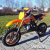 Viron Pocketbike 49cc Enduro Pocket Cross Bike Mini...
