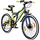 Galano 24 Zoll MTB Fully Adrenalin DS Mountainbike...