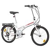 Klapprad Faltrad Fahrrad Bikesport FOLDING 20 Zoll...