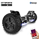 CITYSPORTS SS-01Jr Hoverboard 6.5'' LED (Red)