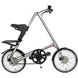 Falt Fahrrad Strida EVO 18 Zoll 3S in Farbe Silver...