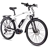 CHRISSON 28 Zoll Herren Trekking- und City-E-Bike -...