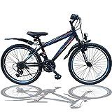 Talson 24 Zoll Mountainbike Fahrrad MIT GABELFEDERUNG &...