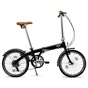 Mini Folding Bike Black Test