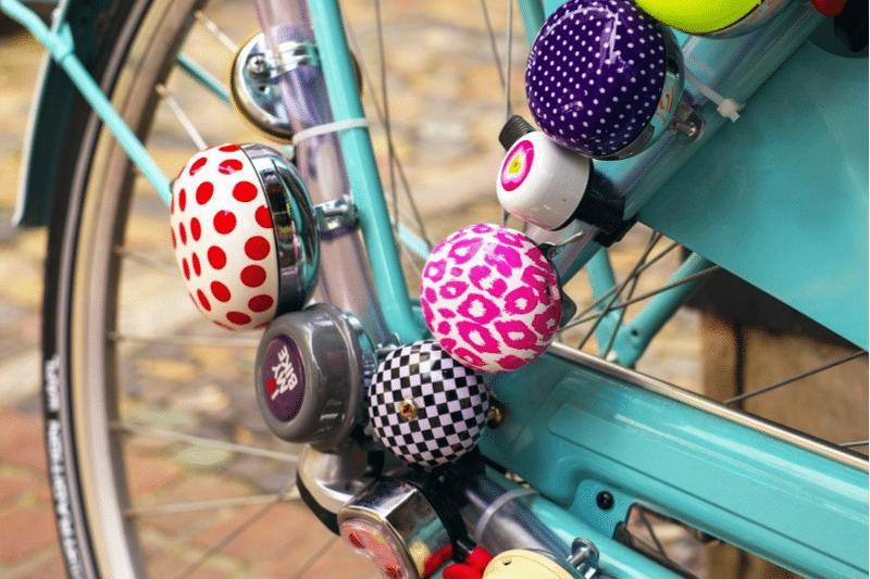 Fahrradklingeln am Fahrrad